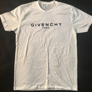 Other - Givenchy Paris White T-Shirt Multiple Sizes